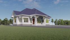 House Plan ID-22251, 3 bedrooms, 2925+1454 bricks and 112 corrugates