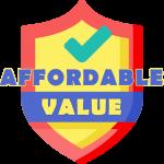 affordable & value