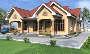 Four bedrooms family house with great views