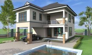 Simple elegant villa which is 4 bedrooms