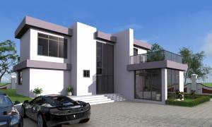 A luxurious three bedrooms villa for your family