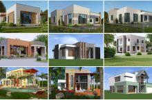 Fahamu zaidi unapotaka kujenga nyumba bati zisizoonekana (Contemporary houses za Kitanzania)
